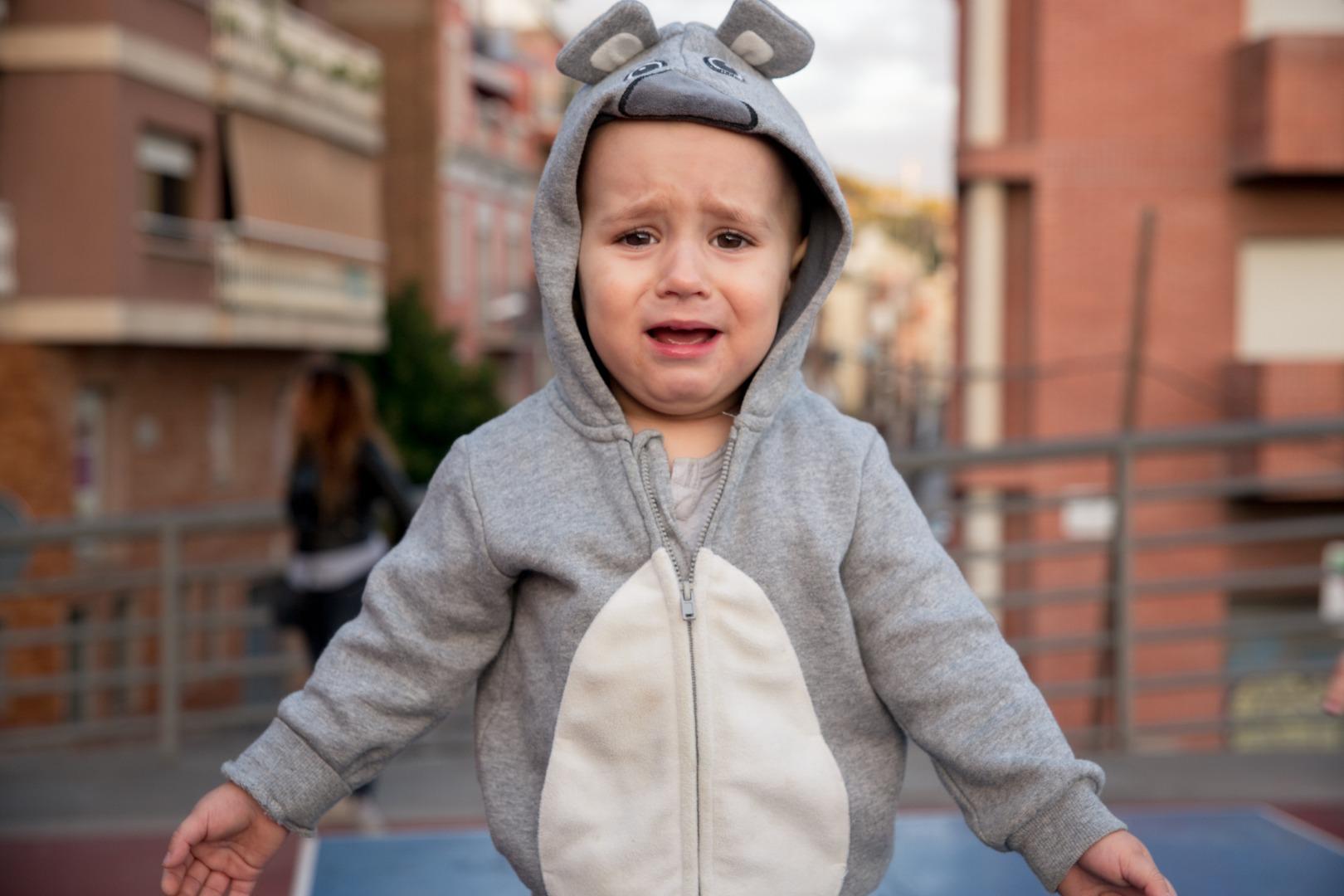 Как помочь малышу пережить разлуку с мамой