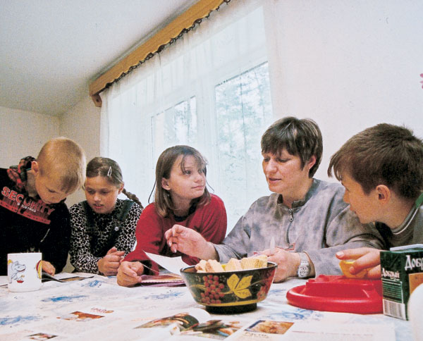 Village for single children