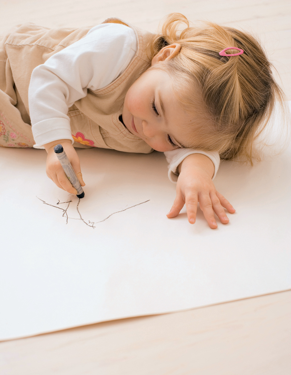 Always create: what kinds of creativity will suit the kid
