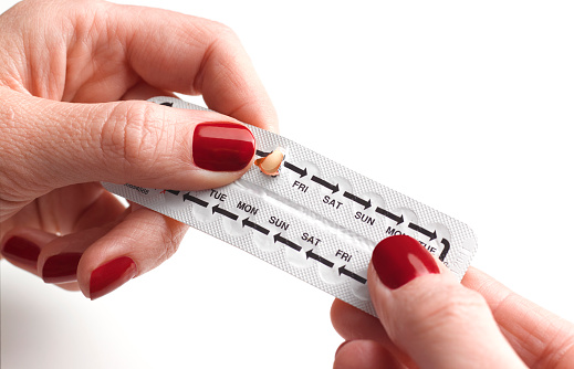 Pregnancy with contraceptive pills