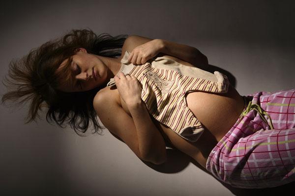 Снится беременная соседка