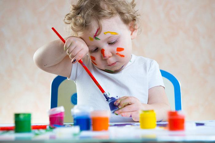 Секреты техник рисования для самых маленьких