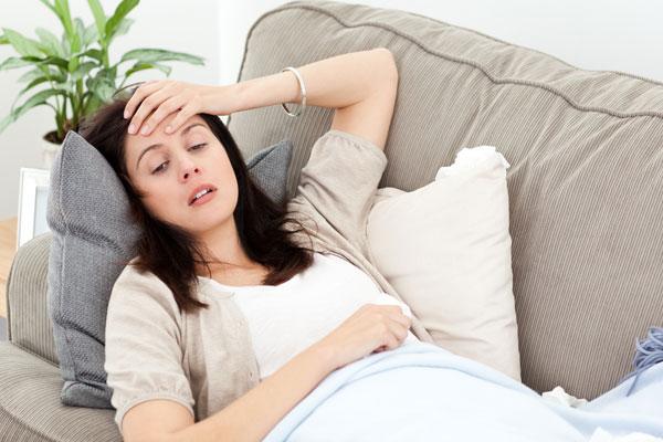 Vegetative dystonia in pregnant