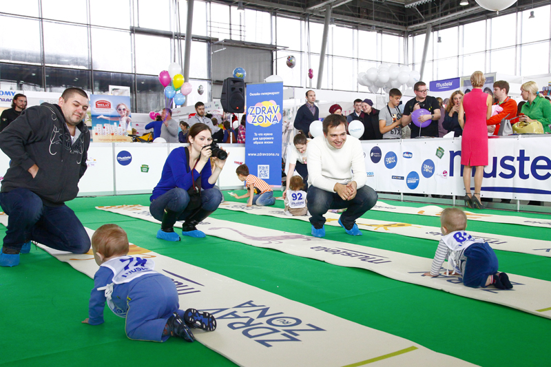 The 8th festival of pregnant women and babies will be held in the Sokolniki exhibition center
