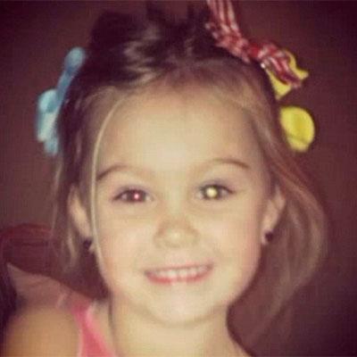 Una foto en Facebook salvó la vista de una niña de 3 años.