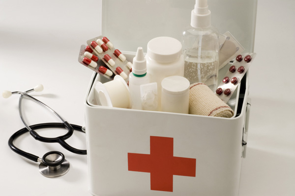 First Aid Kit for a child older than 1 year