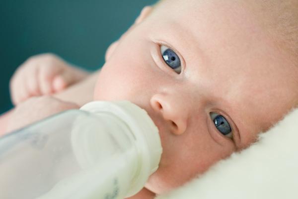 Baby food: optimal temperature