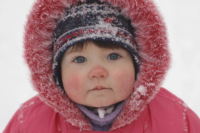 The child is cold: signs and first aid for hypothermia