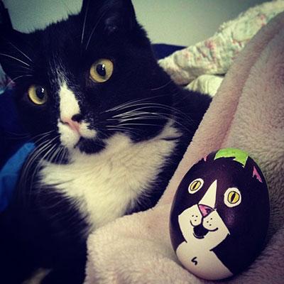 Необычные пасхальные яйца-2014 в Instagram