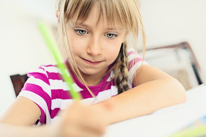 Se arruinan las letras: disgrafia en un niño