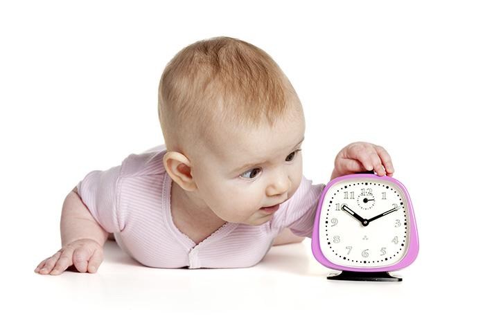 Знакомим ребенка со временем: полезные игры