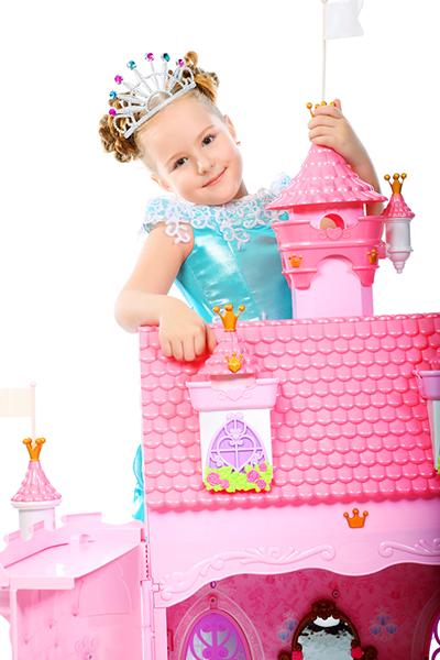 Girls and princesses