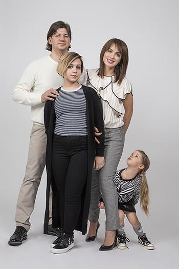 """Irina Muromtseva: """"La familia es lo primero"""