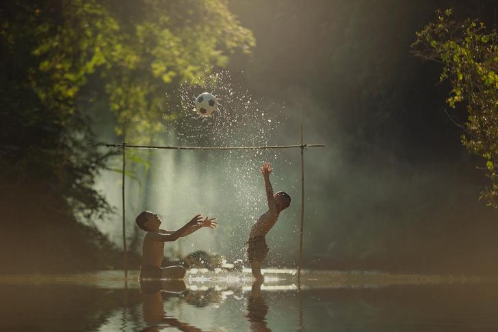 Фото №1 - Летние игры