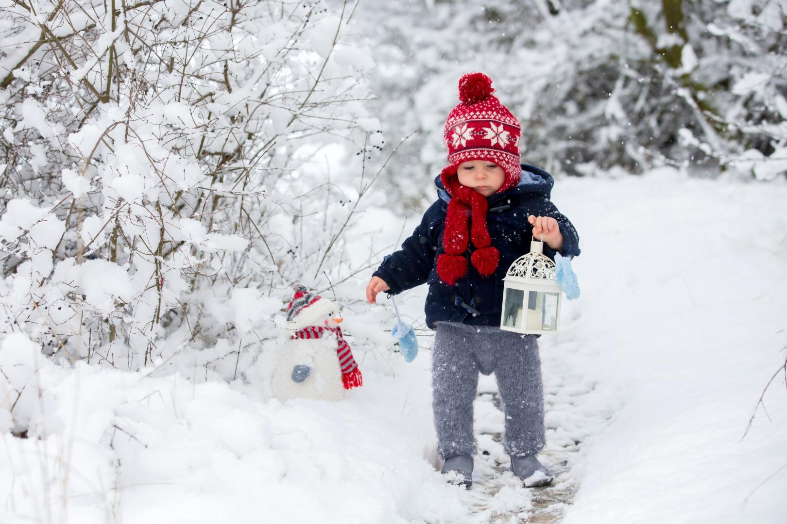 Сочиняем зимние сказки вместе с крохой
