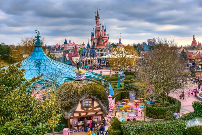 Съемка в Disneyland Париж для читателей журнала