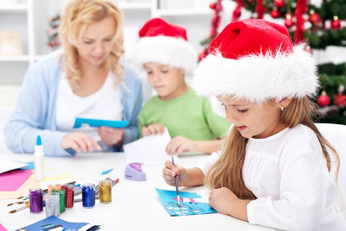 Новогодняя мастерская: идеи декора для детей и их родителей