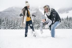 Фото №1 - Зимние забавы