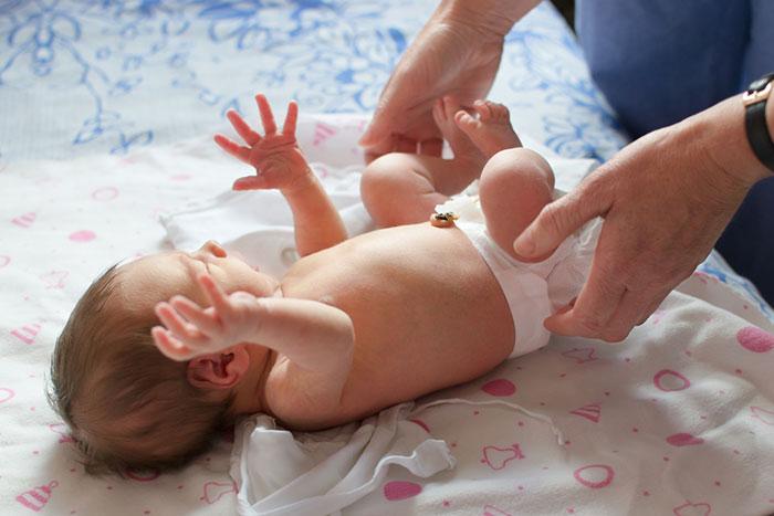 Начало начал: организм новорожденного малыша