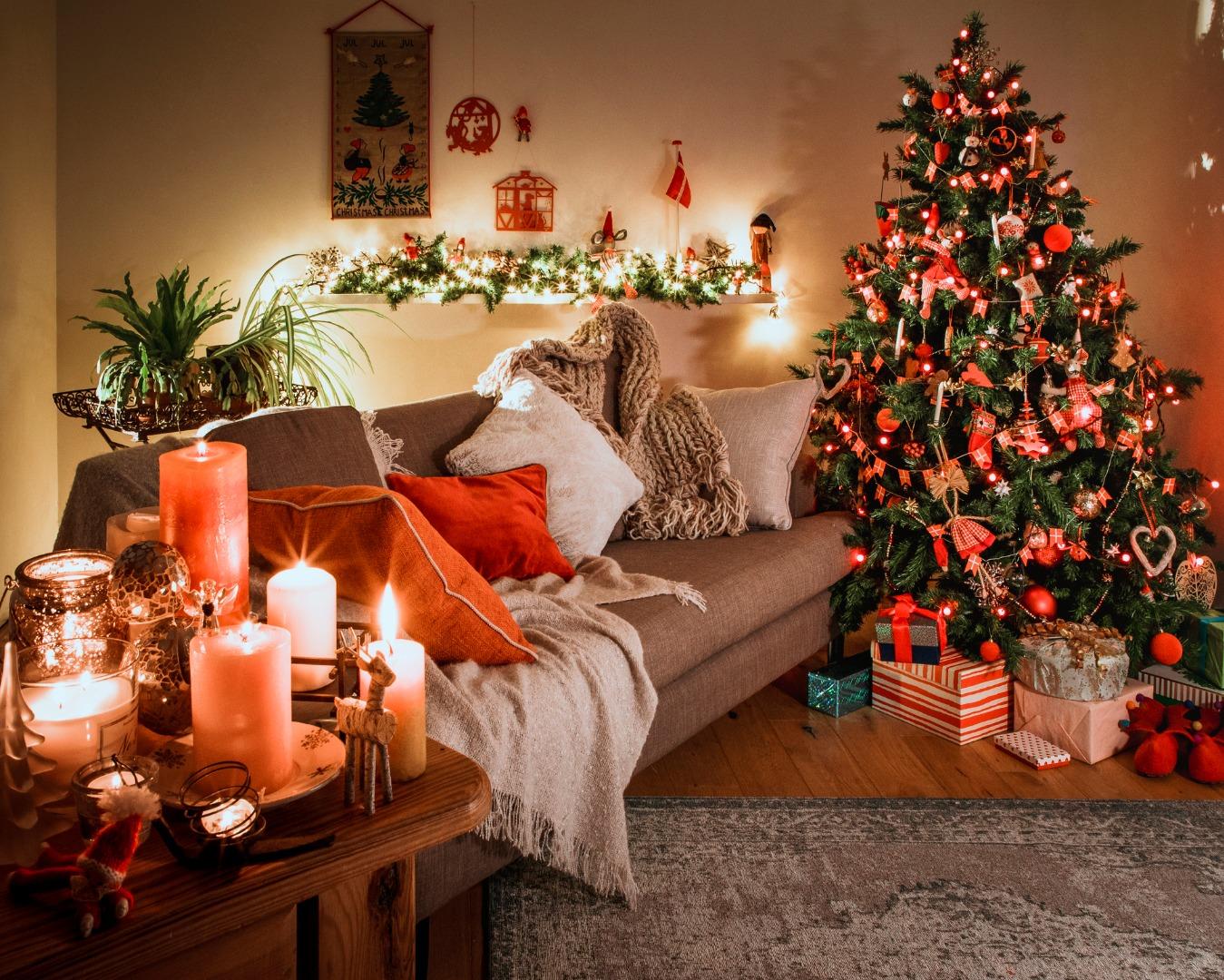 Идеи для новогоднего интерьера дома